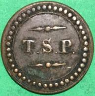FICHA T.S.P. - R X - Tokens & Medals