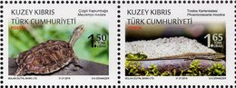 Northern Cyprus - 2018 - Protected Animals - Reptiles - Mint Stamp Set - Cyprus (Turkije)