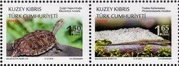 Northern Cyprus - 2018 - Protected Animals - Reptiles - Mint Stamp Set - Ongebruikt