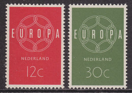 Nederland 1959 NVPH 727-728 Europa-zegels Postfris (MNH) - Neufs