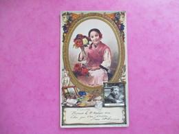 CHROMO PUBLICITE GAUFFREE LEFEVRE UTILE / LU ETCHEVERRY SALON 1912 - Lu