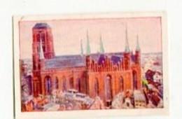 SB03318 Garbaty / Berlin Pankow - Deutsche Heimat - Serie 10 Bild 1 Deutsche Baukunst - Marienkirche In Danzig - Cigarettes