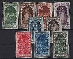 1934 Decennale Annessione Fiume Serie Cpl P.a. MNH - 1900-44 Vittorio Emanuele III
