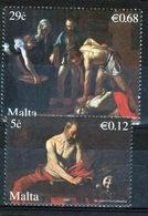 Malta Set Of Stamps From 2007 To Celebrate Michelangelo In Malta. - Malta