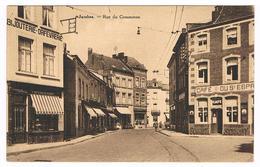 CPA : NAMUR JAMBES  Entrée De Jambes, Ru Du Commerce , Bijouterie Beguin Demaret, Café Du St Esprit - Namur
