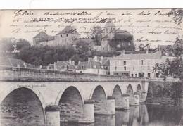 Postcard Le Blanc L'ancien Chateau El Le Pont PU Le Blanc 1906 My Ref  B12499 - Le Blanc