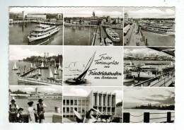 22474   CPM  FRIEDRICHSHAFEN  :carte Photo Multivues ( 9  Vues  ) ! 1964 !  ACHAT DIRECT !! - Friedrichshafen