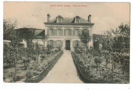 22496  CPA   PORT MORT  : Villa Des Fleurs   1940 ! - Other Municipalities