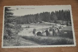 1559- Chiny, Le Pont St. Nicolas - 1938 - Chiny