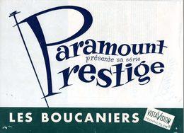 Dossier De Presse Cinéma Paramount. Les Boucaniers De Cecil; B. DeMille Avec Yul Brynner, Charlton Heston, Claire Bloom. - Cinema Advertisement
