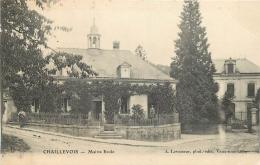 02-110 CPA   CHAILLEVOIS  Mairie école   Belle Carte - France