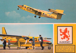 Alderney Aurigny Aircraft Jarrold A9 Unused C1980 [P0031/1D] - Alderney