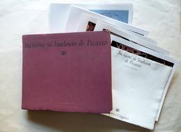 Incisioni Su Linoleum Di Picasso Il Saggiatore Milano 1962 29 Tavole Arte - Livres, BD, Revues