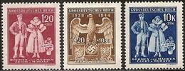Bohemia 112/114 ** MNH. 1944 - Bohemia Y Moravia