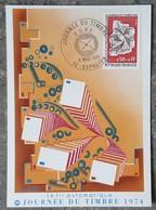 CM 1974 - YT N°1786 - JOURNEE DU TIMBRE - ESPALION - Maximumkarten