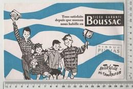 BUVARD BOUSSAC  Tampon Tissu PINHAS Tours - Textile & Clothing