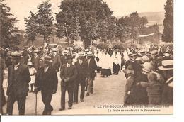 LOIRE  LE PIN BOUCHAIN  FETE DU SACRE COEUR  ANIMEE NON ECRITE - Frankrijk