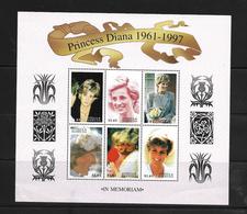 O) 1998 SIERRA LEONE, DIANA PRINCESS OF WALES, PRINCE HARRY -HELPING TO FEED NEEDY, MNH - Sierra Leone (1961-...)