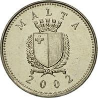 Monnaie, Malte, 2 Cents, 2002, British Royal Mint, SUP, Copper-nickel, KM:94 - Malta