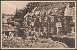 Swan Hotel Garden, Bibury, Gloucestershire, C.1930s - Peter Wyndham Postcard - England
