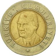 Monnaie, Turquie, New Lira, 2005, Istanbul, TB, Bi-Metallic, KM:1169 - Turquie
