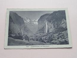Lauterbrunnen Und Staubbach ( 8538 - R. Gabler ) - Anno 1913 ( Zie / Voir Photo ) ! - BE Berne