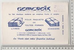 BUVARD GOMCROIX Le Lien élastique - Tampon Librairie TRIDON à TOURS - Stationeries (flat Articles)