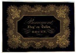 Beaumont Negt. En Tulles Rouen - Publicité