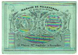 Magasin De Pelleteries En Gros Et En Détails A. Diewan 13, Plaine Ste. Gudule à Bruxelles - Andere