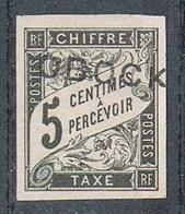 OBOCK TAXE N°9 NSG - Unused Stamps