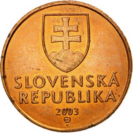 Monnaie, Slovaquie, 50 Halierov, 2003, TTB, Copper Plated Steel, KM:35 - Slovaquie