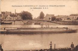 CHALON SUR SAONE - Etablissements Schneider Et Cie - Le Submersible S.C.I. - Chalon Sur Saone