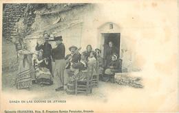 DANZA EN LAS CUEVA DE GITANOS - Coleccion Granadina. - Granada