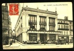 NIORT (Deux-Sèvres) - 89 : Les Nouvelles Galeries - (Plan Animé - Automobile Ancienne) - Niort
