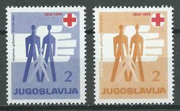 Yougoslavie Bienfaisance YT N°37/38 Croix-Rouge Neuf/charnière * - Wohlfahrtsmarken
