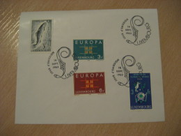 LUXEMBOURG 1963 FDC Cancel Cover Europa Europe Europeism Europeanism - Europa-CEPT
