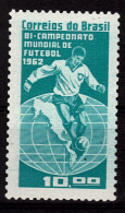 BRESIL   N° 726  * *   Cup 1962    Football  Soccer Fussball - Coupe Du Monde