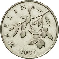 Monnaie, Croatie, 20 Lipa, 2007, TTB+, Nickel Plated Steel, KM:7 - Croatie