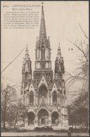 Église Notre-Dame, Bruxelles-Laeken, 1921 - Henri Georges CPA - Laeken