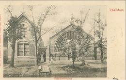 Zaandam 1902; Czaar Peter Huisje - Gelopen. (J. H. Schaefer, Amsterdam) - Zaandam
