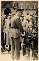 Postcard / ROYALTY / Belgique / België / Koning Leopold III / Roi Leopold III / Remise Drapeau / Gendarmerie / 1936 - Beroemde Personen