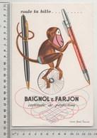 BUVARD BAIGNOL Et FARJON D' Après André François - Stationeries (flat Articles)