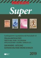 CATALOGO UNIFICATO SUPER 2019 / ITALIA   -  VOLUME 1  FORMATO PDF - Lotti E Collezioni