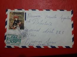 Paragay Enveloppe Circulé Avec Une Grande Quantité De Timbres 1983 - Paraguay