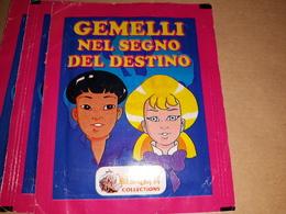 Gemelli Nel Segno Del Destino Bustina Chiusa Con Figurine Merlin 1993 - Stickers