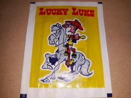 Lucky Luke Bustina Chiusa Con Figurine 1976 - Stickers