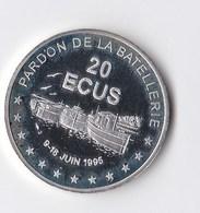 Pièce En Argent De 20 écus De 1995 Pardon De La Batellerie , Conflans Sainte Honorine - Euros Of The Cities