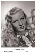 VERONICA LAKE - Film Star Pin Up PHOTO POSTCARD - 27-39 Swiftsure Postcard - Postales
