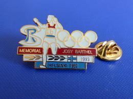 Pin's Mémorial Josy Barthel 1993 - Jeux Olympiques - Helsinki 1962 - Course à Pied Athlétisme (PE1) - Athletics