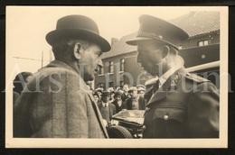 Postcard / ROYALTY / Belgique / België / Koning Leopold III / Roi Leopold III / La Bouverie / Victimes Du Coup De Grisou - Frameries